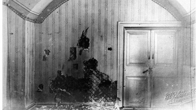 Комната, где была расстреляна царская семья