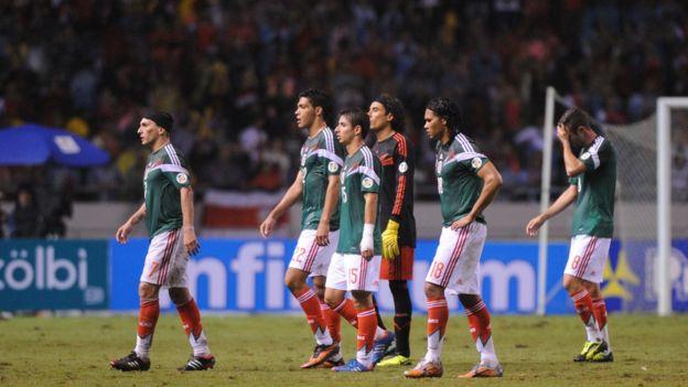 México tras perder con Costa Rica