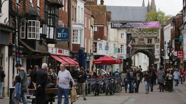 斯克里帕爾到英國後,定居南部城市薩利斯伯裏(Salisbury)