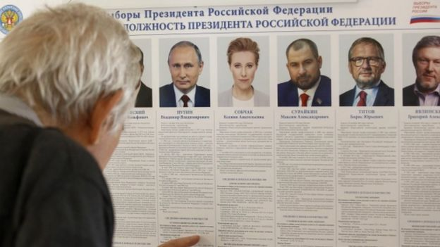 Rusia, Putin