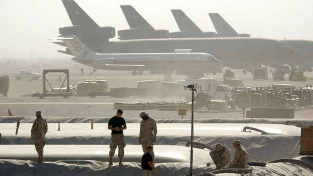 La base aérea de Al Udeid, en Qatar