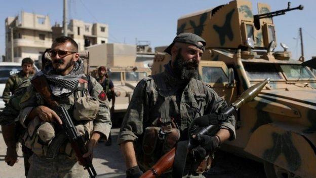 تحظى قوات سوريا الديمقراطية بدعم الولايات المتحدة