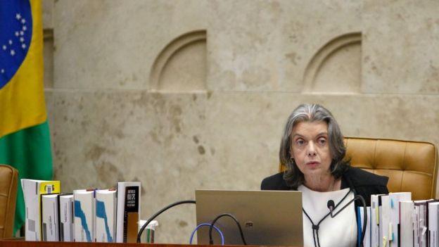A presidente do STF, ministra Cármen Lúcia