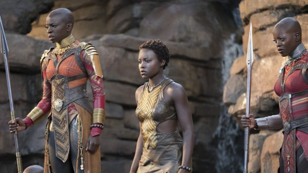 Danai Gurira y Lupita Nyong'o (Foto: Marvel Studios)