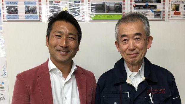 Yoshi Kunihiro (left) Nakao Sugiyama (right)