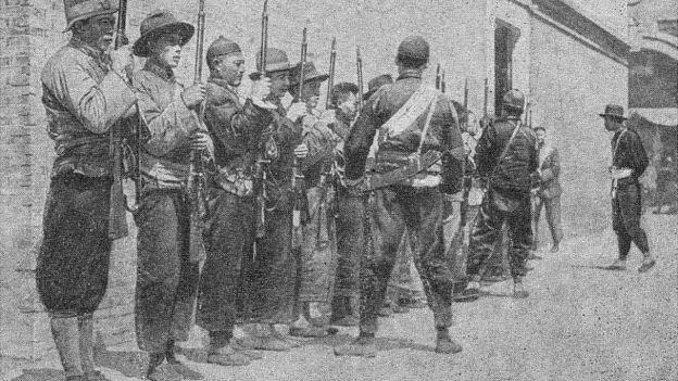 1919年的中國士兵