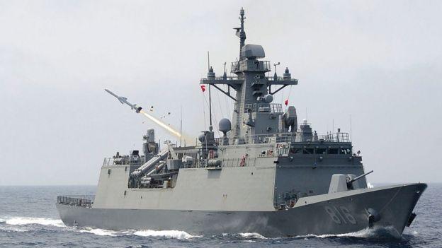 buques de la Séptima Flota