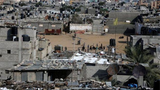 Khan Younis refugee camp