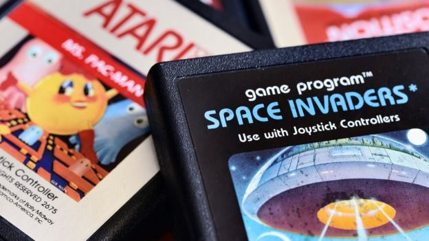 Atari console games