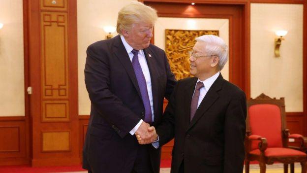 Donald Trump và Nguyễn Phú Trọng