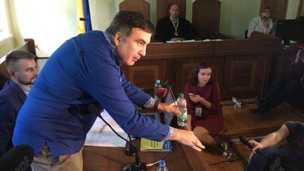 Суд признал Саакашвили виновным внезаконном пересечении границы 22сентября 2017 22:36