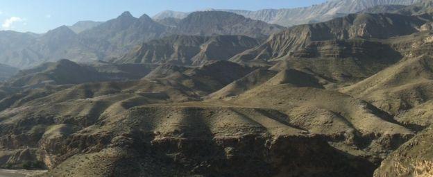 Montanhas no Daguestão