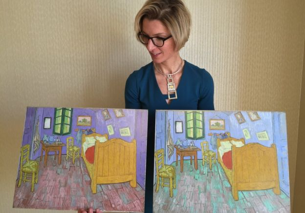 Van Gogh\'s bedroom gets digital makeover - BBC News