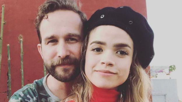 Valfre con su esposa Donald Eley
