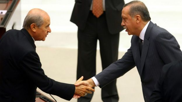 Erdoğan ve Bahçeli
