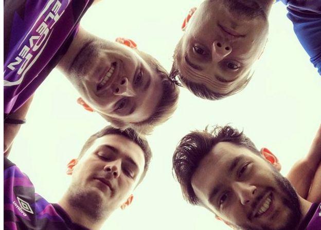 The E Sports team