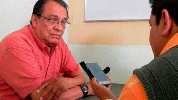 Una foto donde aparece Rodríguez