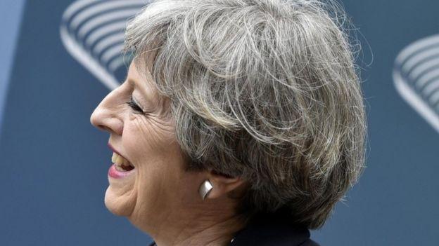 UK PM Theresa May