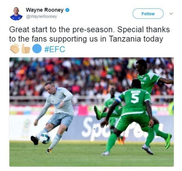 Rooney dhidi ya Gor Mahia