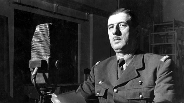 De Gaulle at the BBC in 1941