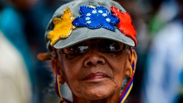 Mujer venezolana