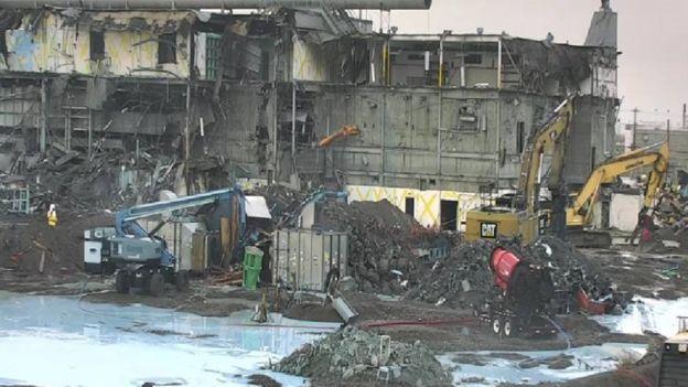 Trabajos de limpieza en Hanford Site (Foto: cortesía Hanford Site)