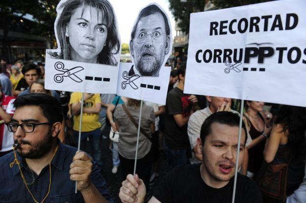 Resultado de imagen de pp corruption spain