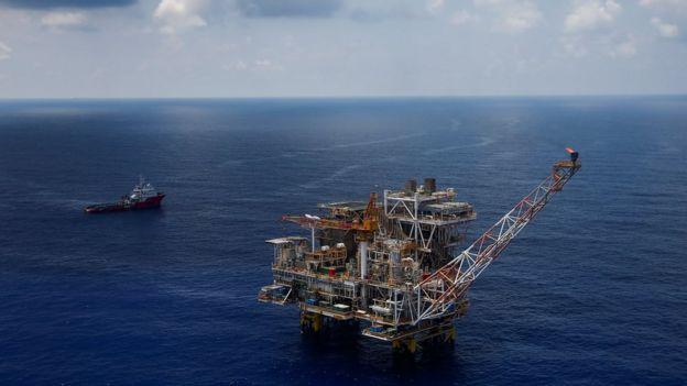 Giàn khoan Lan Tây được vận hành bởi Rosneft ở ngoài khơi Vũng Tàu.