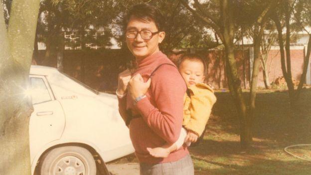 1980年代张宪义在台湾的生活照