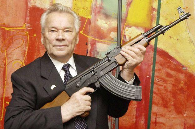 Mikhail Kalashnikov, inventor of AK-47, 2002 file pic