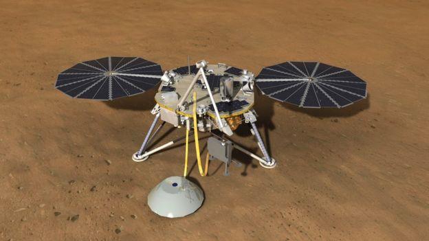 مهمة إنسايت التابعة لوكالة ناسا