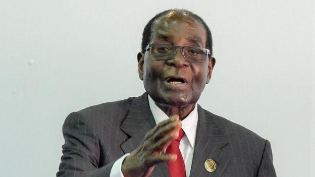 Robert Mugabe file photo