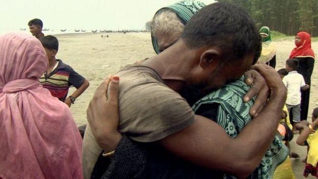 Qaxootiga Rohingya