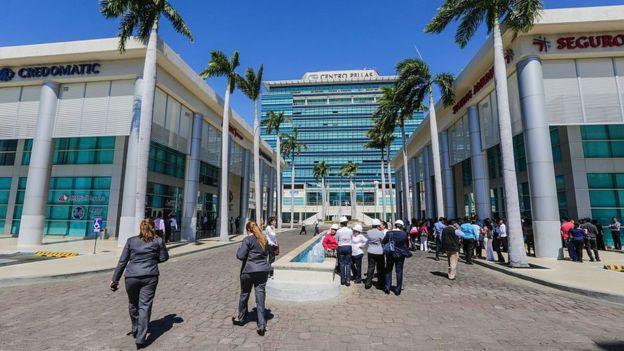 El centro Pellas, en Managua, la capital de Nicaragua.