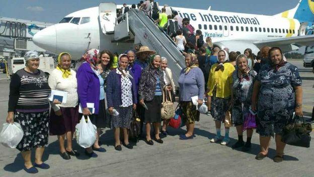 перед польотом до Угорщини