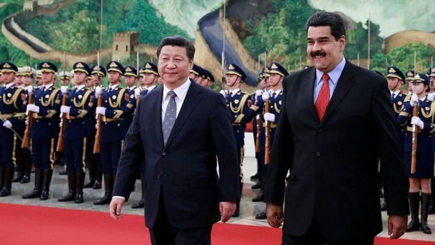 China has been one of the partners of Venezuela in recent years.