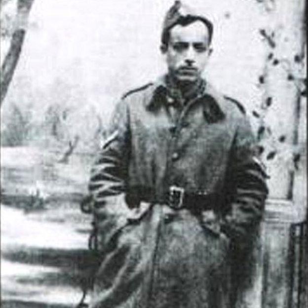 Marcel Nadjari in Greek military uniform