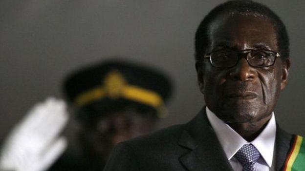 Rais Robert Mugabe ajiuzulu