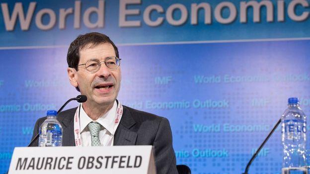 Maurice Obstfeld, IMF chief economist