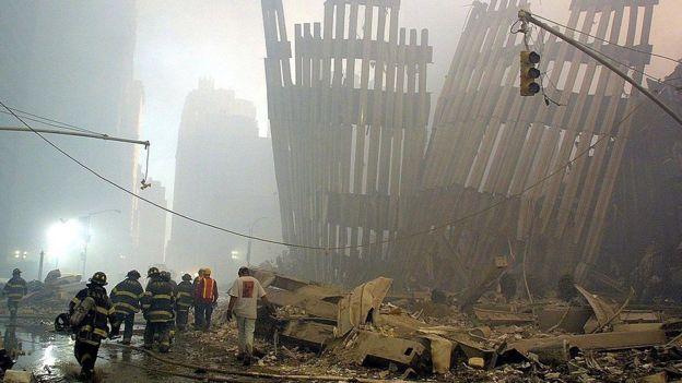 Escombors de las torres gemelas del WTC