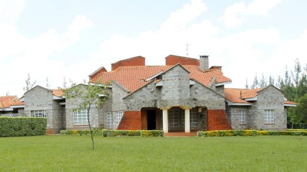 Ruto's home in Sugoi