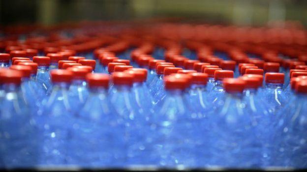 पानी के बोतल