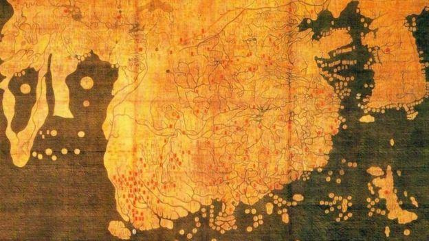 Mapa Kagnido