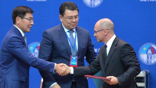 Кириенко и Жумагалиев