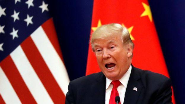 特朗普稱貿易逆差上不怪中國。