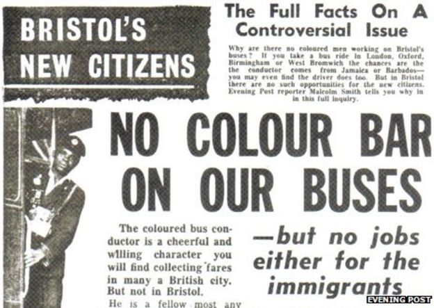 What was behind the Bristol bus boycott? - BBC News