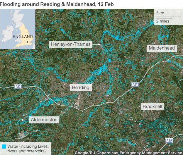 UK storms Mapping the floods BBC News – Flood Map York Uk