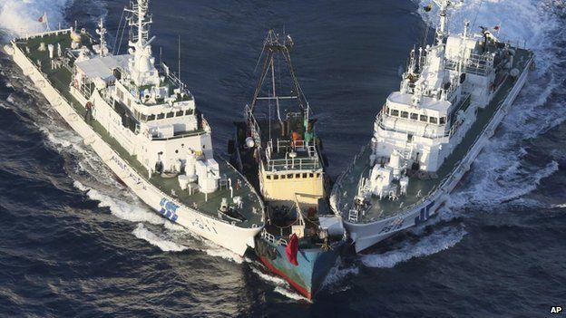 How Uninhabited Islands Soured ChinaJapan Ties BBC News - Us map minus uninhabited