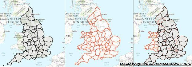 The baffling map of Englands counties  BBC News