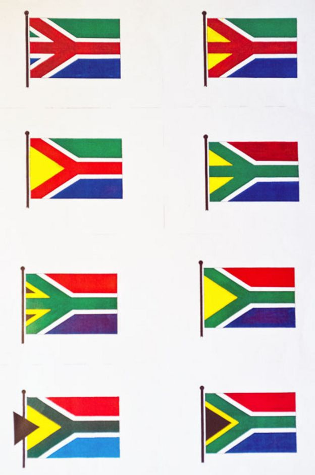 Fred Brownell The man who made South Africas flag  BBC News